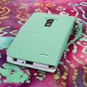 LG G Flex - Mint MPERO FLEX FLIP Wallet Case Cover Angle 3