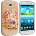 Samsung Galaxy S3 Unicorn TPU Design Soft Case Cover Angle 1