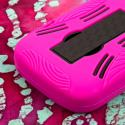 ZTE Radiant / Sonata 4G - Hot Pink MPERO IMPACT XL - Kickstand Case Cover Angle 7