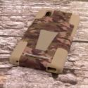 ZTE ZMAX - Hunter Camo MPERO IMPACT X - Kickstand Case Cover Angle 3