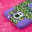 Samsung Galaxy Note 4 - Purple Rainbow Leopard MPERO IMPACT X - Stand Case Angle 6