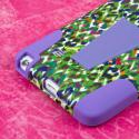 Samsung Galaxy Note 4 - Purple Rainbow Leopard MPERO IMPACT X - Stand Case Angle 7