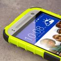 HTC One Mini 2 - Neon Green MPERO IMPACT SR - Kickstand Case Cover Angle 5