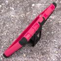 Nokia Lumia 830 - Hot Pink MPERO IMPACT SR - Kickstand Case Cover Angle 4
