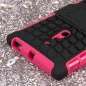 Nokia Lumia 830 - Hot Pink MPERO IMPACT SR - Kickstand Case Cover Angle 6