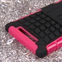 Nokia Lumia 830 - Hot Pink MPERO IMPACT SR - Kickstand Case Cover Angle 7