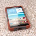 LG G Vista - Sandstone / Gray MPERO IMPACT X - Kickstand Case Cover Angle 2