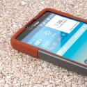 LG G Vista - Sandstone / Gray MPERO IMPACT X - Kickstand Case Cover Angle 5