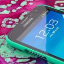 Samsung Galaxy Note 2 - Mint MPERO SNAPZ - Rubberized Case Cover Angle 4