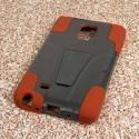 Samsung Galaxy Note Edge - Sandstone / Gray MPERO IMPACT X - Kickstand Case Angle 3