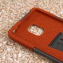 Samsung Galaxy Note Edge - Sandstone / Gray MPERO IMPACT X - Kickstand Case Angle 5