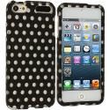 Apple iPod Touch 5th 6th Generation Polka Dot Hard Rubberized Design Case Cover Angle 1