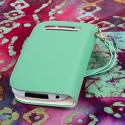 BlackBerry Curve 9310 / 9315 - Mint MPERO FLEX FLIP Wallet Case Cover Angle 3