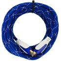 HDTV PS3 PS4 Xbox 360 Xbox One DVD 15ft Blue Mesh HDMI Cable 1.4 High Speed Angle 2