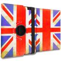 Apple iPad 4th 3rd 2nd Gen The Union Flag 360 Rotating Case Cover Pouch Stand Angle 1