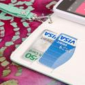 Nokia Lumia 521 - Mint MPERO FLEX FLIP Wallet Case Cover Angle 6