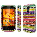 ZTE Force - Aztec Fiesta MPERO SNAPZ - Rubberized Case Cover Angle 1