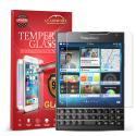 Blackberry Passport GlassWorX HD Clear Tempered Glass Screen Protector Angle 1