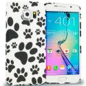 Samsung Galaxy S6 Dog Paw TPU Design Soft Rubber Case Cover Angle 1