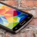Samsung Galaxy S5 MPERO Slim Fit Hard Case Cover Black Matte Angle 5