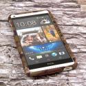 HTC Desire 816 - Green Camo MPERO SNAPZ - Case Cover Angle 2