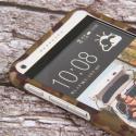 HTC Desire 816 - Green Camo MPERO SNAPZ - Case Cover Angle 4