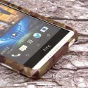 HTC Desire 816 - Green Camo MPERO SNAPZ - Case Cover Angle 5