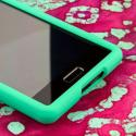 LG Splendor - Mint Green MPERO SNAPZ - Rubberized Case Cover Angle 5