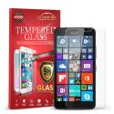 Microsoft Lumia 640 XL GlassWorX HD Clear Tempered Glass Screen Protector Angle 1