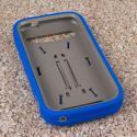 ZTE Grand S Pro - Blue MPERO IMPACT XL - Kickstand Case Cover Angle 2