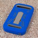 ZTE Grand S Pro - Blue MPERO IMPACT XL - Kickstand Case Cover Angle 3