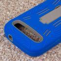 ZTE Grand S Pro - Blue MPERO IMPACT XL - Kickstand Case Cover Angle 6