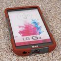 LG G3 - Sandstone / Gray MPERO IMPACT X - Kickstand Case Cover Angle 2