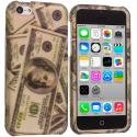Apple iPhone 5C Dollar Hard Rubberized Design Case Cover Angle 1
