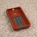 Alcatel OneTouch Evolve 2 - Sandstone / Gray MPERO IMPACT X - Kickstand Case Angle 2