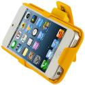 Apple iPhone 5 Yellow Hard Rubberized Belt Clip Holster Case Cover Angle 9
