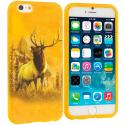 Apple iPhone 6 6S (4.7) Deer TPU Design Soft Case Cover Angle 1