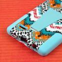 LG G4 - Aqua Safari MPERO IMPACT X - Kickstand Case Cover Angle 7