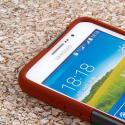 Samsung Galaxy Mega 2 - Sandstone / Gray MPERO IMPACT X - Kickstand Case Angle 5
