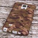 Samsung Galaxy Note 4 - Green Camo MPERO SNAPZ - Case Cover Angle 3