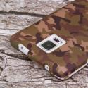 Samsung Galaxy Note 4 - Green Camo MPERO SNAPZ - Case Cover Angle 6