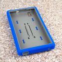 ZTE ZMAX - Blue MPERO IMPACT XS - Kickstand Case Cover Angle 2