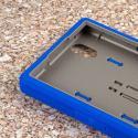 ZTE ZMAX - Blue MPERO IMPACT XS - Kickstand Case Cover Angle 5