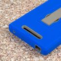ZTE ZMAX - Blue MPERO IMPACT XS - Kickstand Case Cover Angle 7