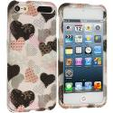 Apple iPod Touch 5th 6th Generation Love desert on Sliver Hard Rubberized Design Case Cover Angle 1