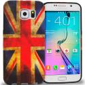 Samsung Galaxy S6 Edge The Union Flag TPU Design Soft Rubber Case Cover Angle 1