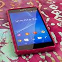 Sony Xperia Z2 - Hot Pink MPERO FLEX S - Protective Case Cover Angle 2