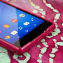 Sony Xperia Z2 - Hot Pink MPERO FLEX S - Protective Case Cover Angle 5