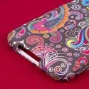 ASUS PadFone X - Black Paisley MPERO SNAPZ - Case Cover Angle 7