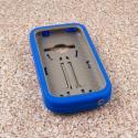 ZTE Concord 2 - Blue MPERO IMPACT XL - Kickstand Case Cover Angle 2